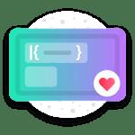 Fuchsia KWGT Gradient Based Widgets 2.8 APK Paid