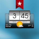 3D Flip Clock & Weather Ad-free v 5.40.1 APK Paid