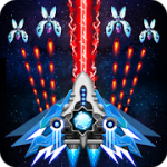 Space shooter Galaxy attack Galaxy shooter v 1.440 Hack mod apk  (Infinite Diamonds / Cards / Medal)