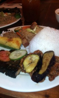 Bihon, Liempo, General Luna's Chicken, Sinigang, Bibingka and Puto Bumbong