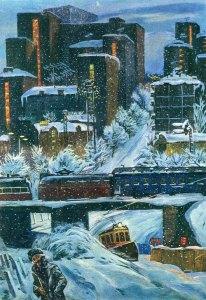 Семен Каплан - Велика зима на Солом`янці, 1986