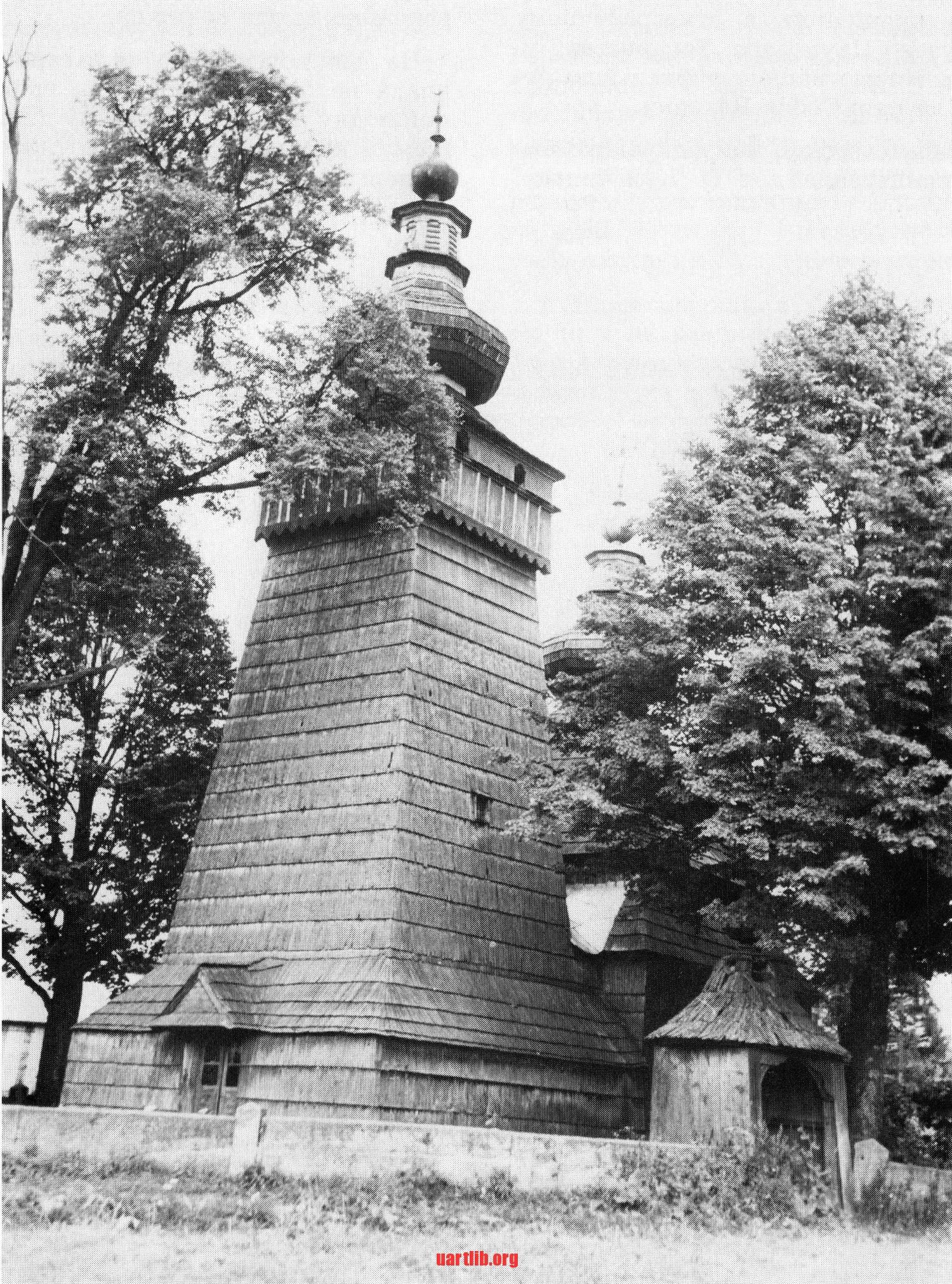 Церква в селі Квітонь, Лемківщина. Збудована у 1811 році