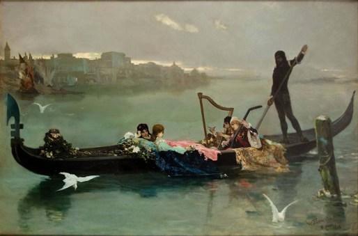 Котарбінський_Венеційська_серенада_(1881)