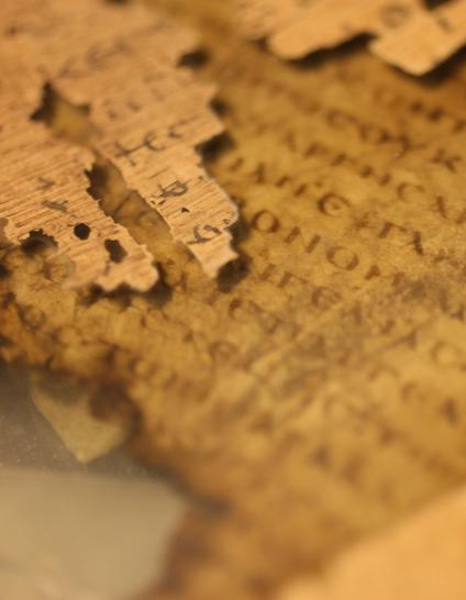 Papyri copy - Greek manuscript