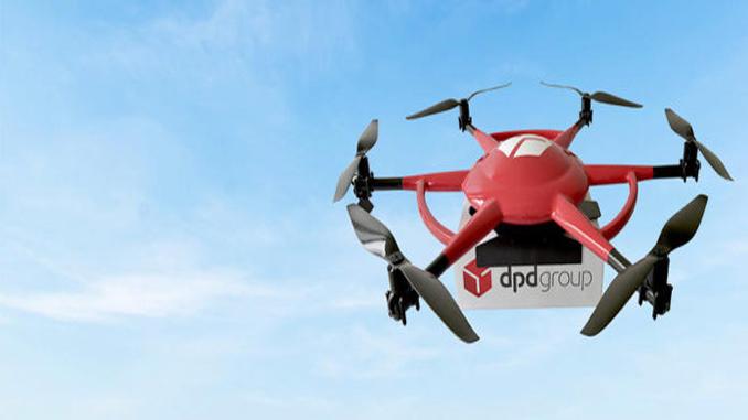 DPDgroup Begins Regular Drone Delivery's