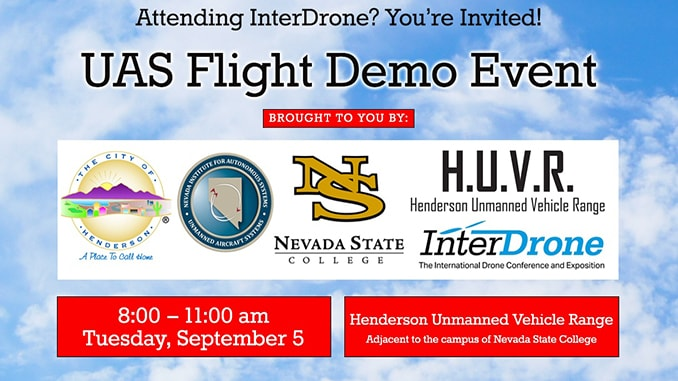 InterDrone the Nevada Institute for Autonomous Systems (NIAS)
