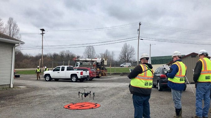 FirstEnergy Utilities Lead Industry in Use of Drones to Inspect Protected Bird Nests