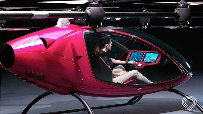 Astro Aerospace Partners with Paterson Composites to Build Its Autonomous Passenger Drone