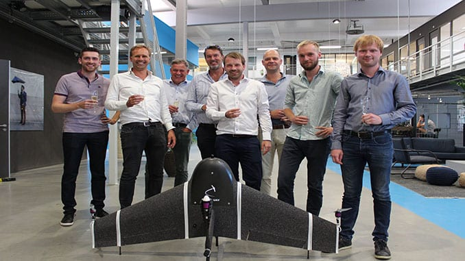 Drone manufacturer joins forces with Dutch technology investment fund