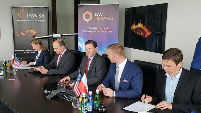 The State of Nevada Signs Historic Autonomous Systems Letter of Intent with Poland and the European Union's Largest Coking Material Mining Group