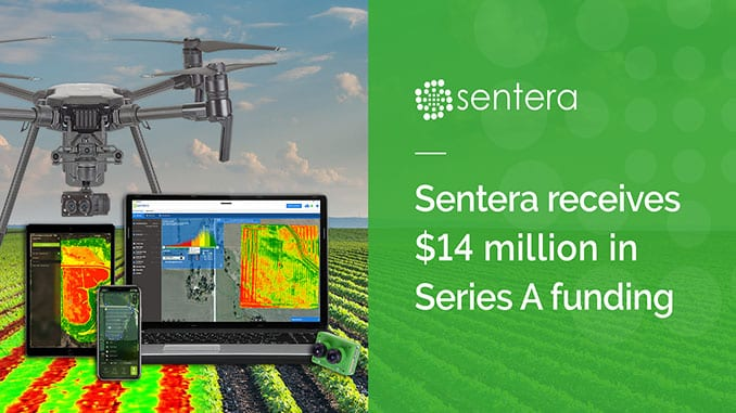 Sentera received $14 million in Series A funding!