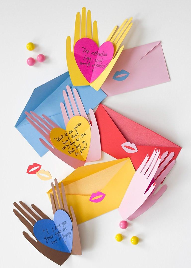 Открытки к празднику своими руками творческие идеи для детей