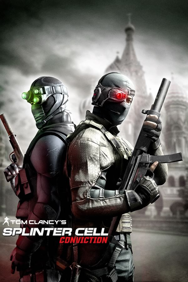 Poster Game Splinter Cell Conviction - Uau Posters
