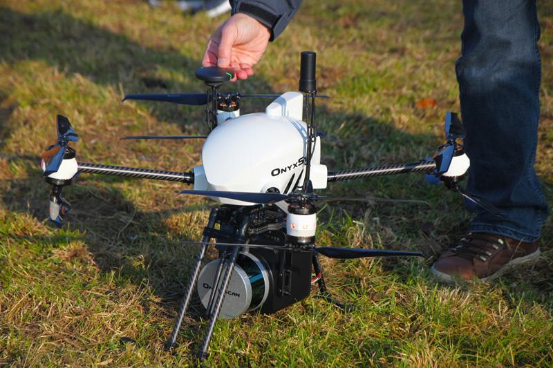 Drone Lidar Prelaunch - LiDAR OnyxScan