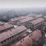 drone video auschwitz concentration camp