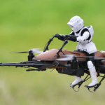 quadcopter star wars speeder bike