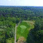 drone golf course