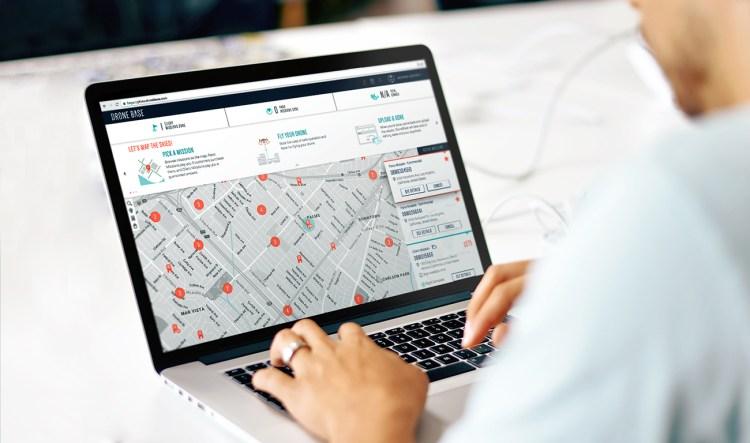 Dronebase dashboard