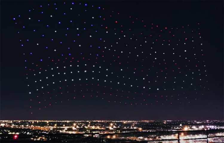 Super Bowl Drones Weren't Flying Live, but Still Made for a Historic Night