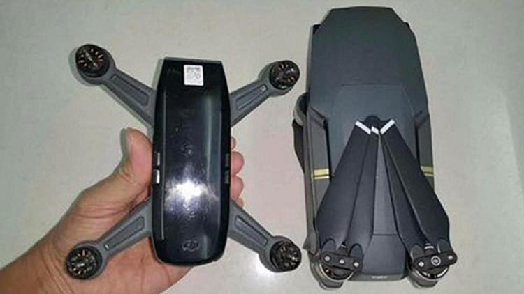 Check Out These Leaked Images of the New DJI Spark Drone - UAV Coach