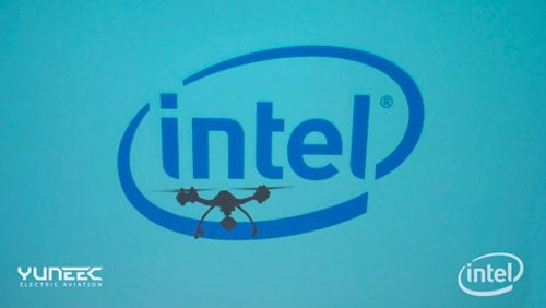 intel yuneec partnership