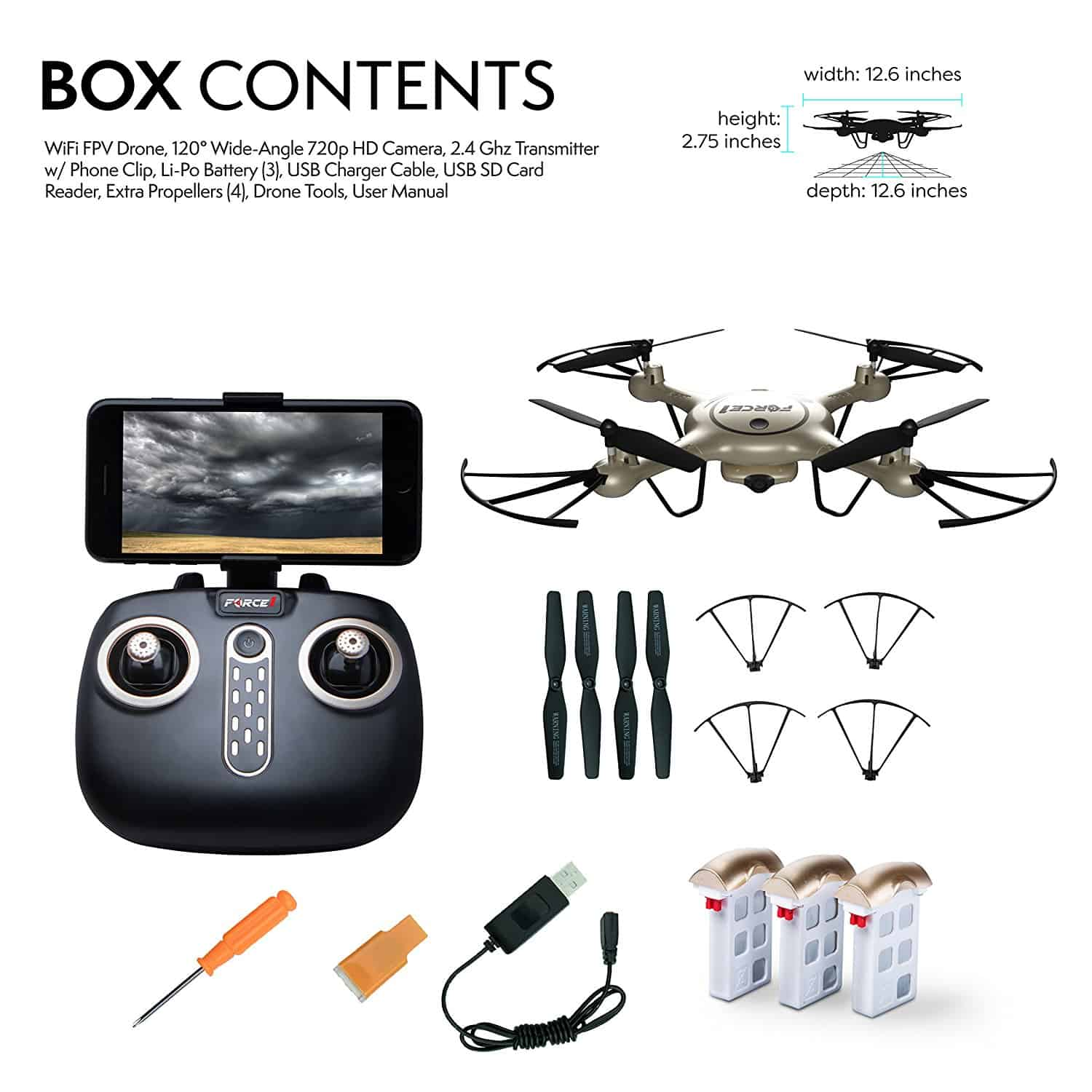 Top 20 Remote Control Drones For Sale Compare And Shop Rc The Wireless System Has One Mode T You 1