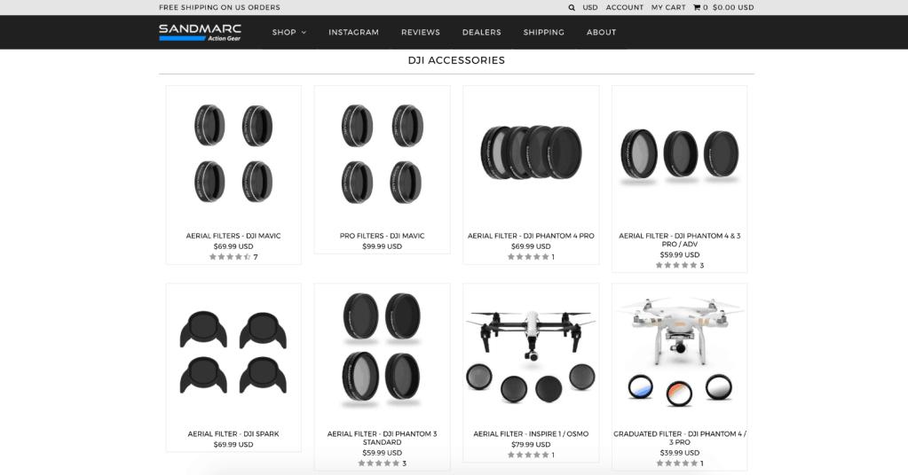sandmarc review aerial filter