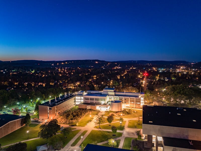 drone-SUNY-campus