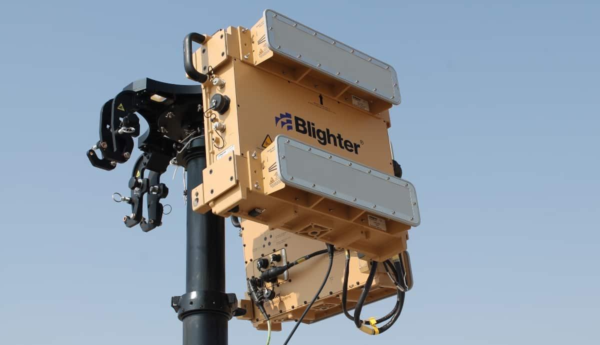 blighter a400 CUAS radar