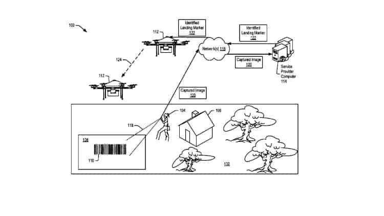 Amazon-drone-delivery-patent