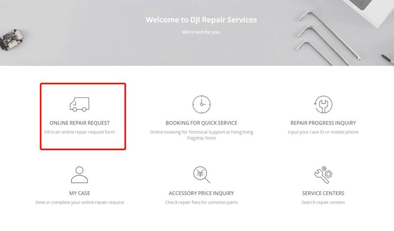 Repair Request 1