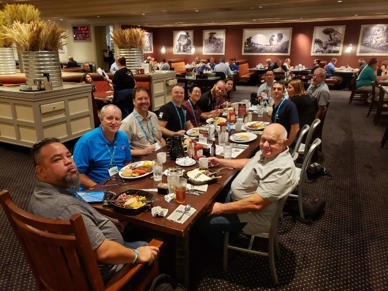 InterDrone 2019 DPGS Lunch