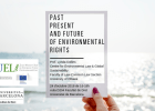 Conferencia: «Past, present and future of environmental rights