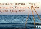 """AWARDING: 2 register grants to participate at the International Course: """"CEDAT Mediterranean Courses on Environmental Justice 2019 (Second Edition)"""""""