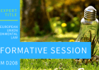 Informative session December the 18th: Expert Title in EU Environmental Law
