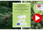 Video conferencia: «Legal recognition of the right to a healthy environment in the UE»