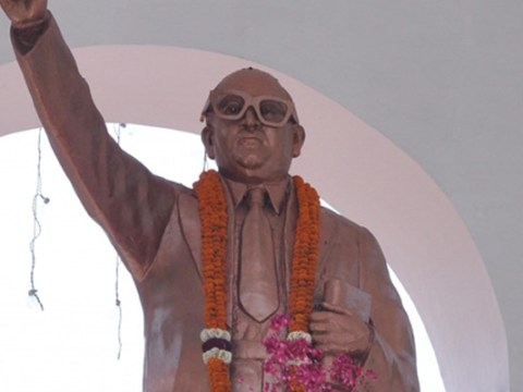 President Ram Nath Kovind pays homage to Dr Bhim Rao Ambedkar on his 128th birth anniversary