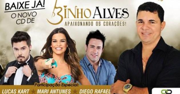 Binho Alves lança novo CD. Baixe o novo CD agora!