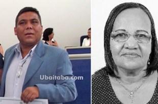 """O prefeito Altamirando de Jesus Santos (PDT), o """"Sapão"""", e a vice-prefeita Joana Angélica Santos (PSDB) de Gongogi poderão ter mandatos cassados por abuso de poder"""