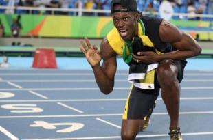 """""""Provei que sou o maior"""", diz Usain Bolt em sua despedida"""
