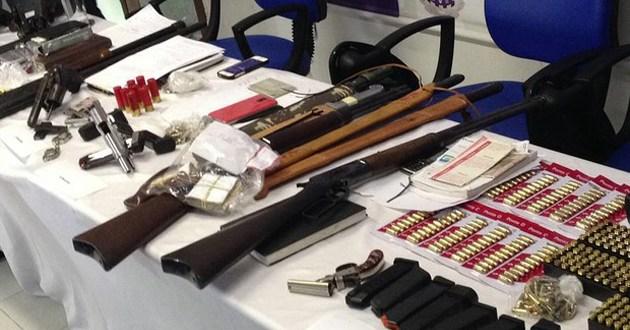 Ciganos são presos na Bahia com farta munição e armamento pesado