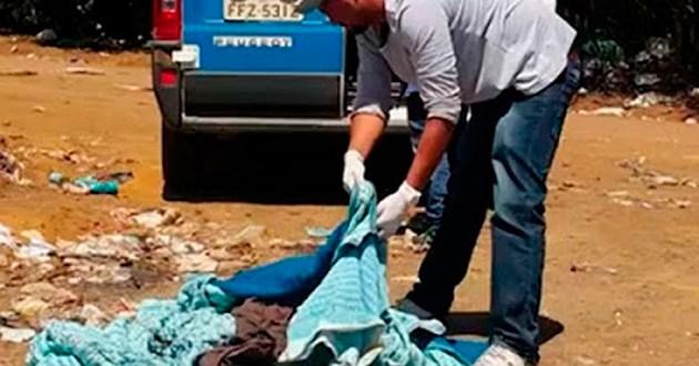 Mãe confessa matar bebê sufocado por cobertas e jogar em lixo na Bahia