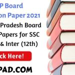 AP Board Question Papers 2021
