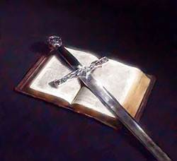 Take...the sword of the Spirit, which is the Word of God