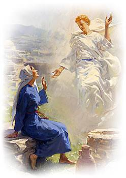 Image result for mary when the angel came