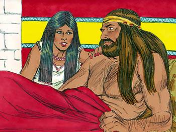 Samson fell in love with a Philistine woman named Delilah