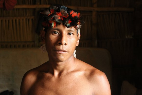 Karitiana Man by Raffaela Fryer-Moreira, entry for the Research Images as Art/Art Images as Research: 2017/18 competition