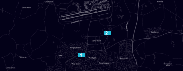 London Gatwick Airport Uber designated waiting spots