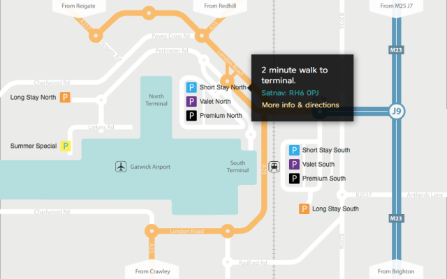 London Gatwick Airport Uber Waiting Areas *Updated*