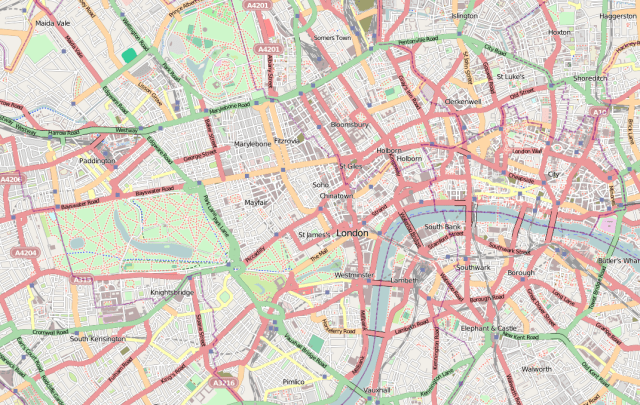 TFL Topographical Test Assessment